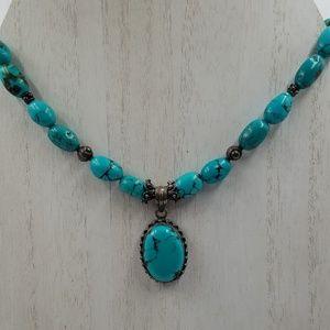 Jewelry - 925 Southwestern Turquoise Necklace